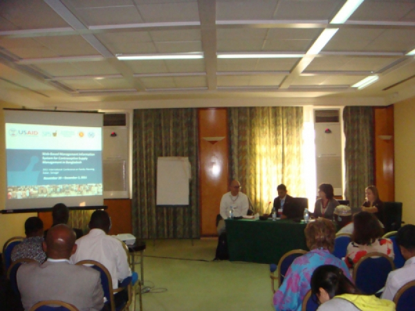 Director Logistics and Supply, DGFP attended in the FP Conference 2011, Dakar Senegal