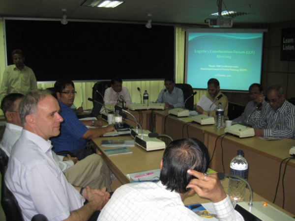 9th Logistics Coordination Forum (LCF) meeting held
