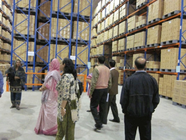 Cross-Learning Study Tour to SMC Warehouse